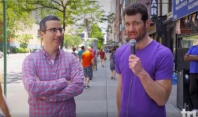 Billy on the Street proves gay men don't care about JohnOliver