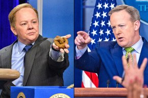 Watch: In Case You Missed Melissa McCarthy as Sean Spicer #SNL (and Spicer's Reaction)