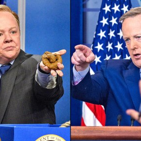 Watch: In Case You Missed Melissa McCarthy as Sean Spicer #SNL (and Spicer'sReaction)