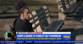 ABC News To Expose Christian Anti-Gay 'Conversion Camps' for Kids 'Operating Across the Country'