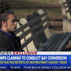 ABC News To Expose Christian Anti-Gay 'Conversion Camps' for Kids 'Operating Across theCountry'