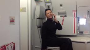 Dream Flight Attendant Perfectly Recreates Britney Spears' 'Toxic' Video