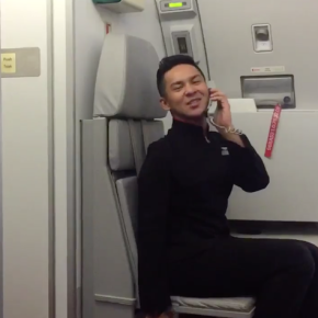 Dream Flight Attendant Perfectly Recreates Britney Spears' 'Toxic' Video