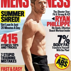 #TGIF Daddy Ryan Phillippe Covers 'Men's Fitness'