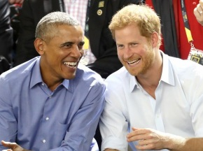 These Pics Make Me Happy Inside #BarackObama #PrinceHarry
